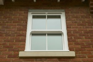 Sash UPVC Double Glazed Window