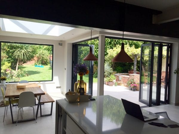 bifolds kitchen extension