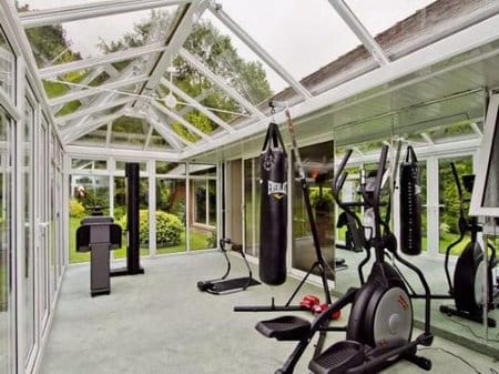 Garage Gym Man Cave : Great man cave ideas for conservatories