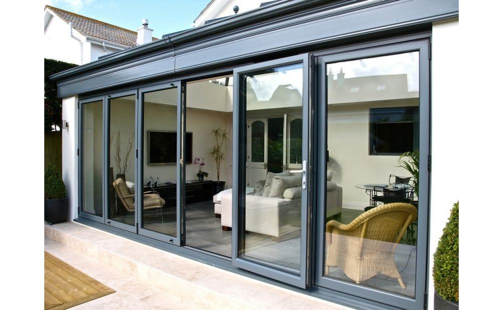 Aluminium BiFold Doors  sc 1 st  Rayleigh Glass & BiFold Doors Chelmsford - Aluminium or PVCu Double Glazed Bi-Folds