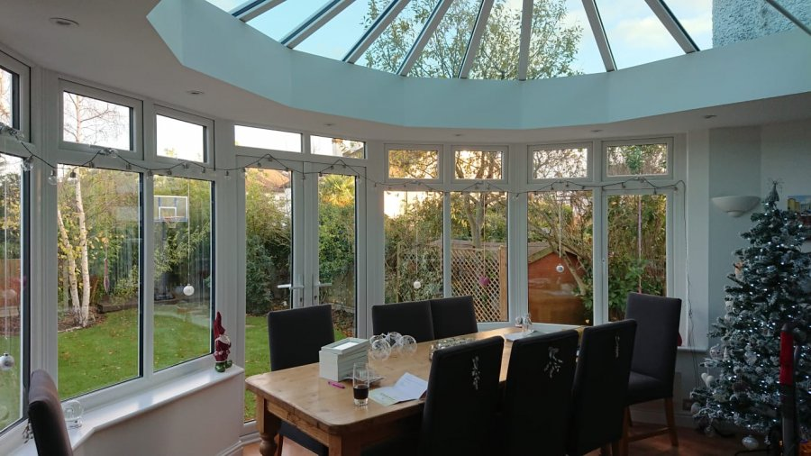 Conservatory Transformed.